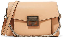 Givenchy Gv3 Small Leather Shoulder Bag - Beige