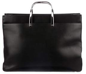 Ralph Lauren Smooth Leather Tote
