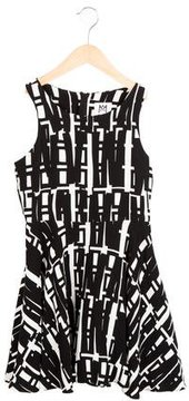 Milly Minis Girls' Printed Flared Dress w/ Tags