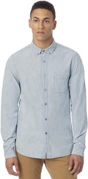 Alternative Apparel Industry Railroad Stripe Chambray Shirt