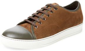 Lanvin Men's Lace-Up Low Top Sneaker