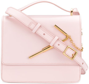 Sophie Hulme medium Straw handbag
