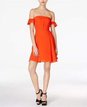 Astr Rosaria Off-The-Shoulder Dress