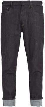 Prada Mid-rise tapered-leg jeans
