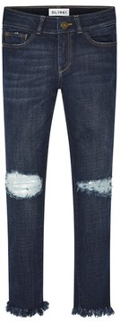 DL1961 Girl's Dl1916 Chloe Distressed Skinny Jeans