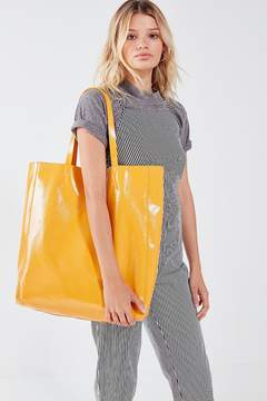 Urban Outfitters Patent Faux Leather Tote Bag