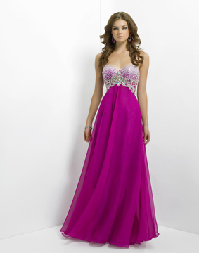 Blush Lingerie Ornate Sweetheart Empire A-Line Gown 9739