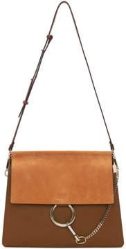 Chloé Tan Medium Faye Bag