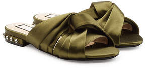 N°21 N21 Satin Sandals