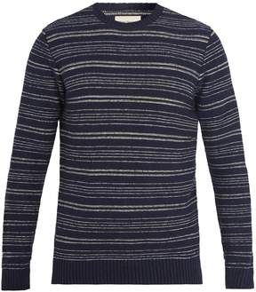 Oliver Spencer Blenheim striped wool-blend sweater