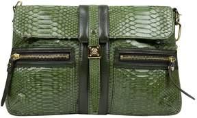 Lanvin Green Crocodile Handbag
