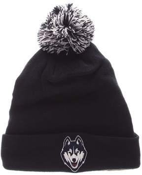 Zephyr Adult UConn Huskies Pom Knit Beanie