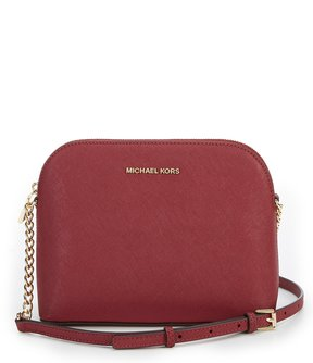 MICHAEL Michael Kors Cindy Large Dome Chain Strap Cross-Body Bag - MULBERRY - STYLE
