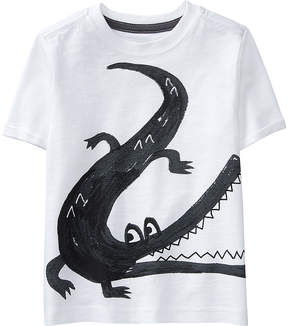 Gymboree White Alligator Tee - Infant, Toddler & Boys