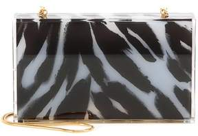 Tom Ford Printed box clutch