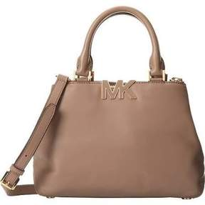 Michael Kors Florence Small Satchel in Dark Dune - DARK DUNE - STYLE