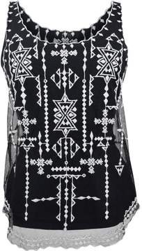 Goldie Embroidered Lace Top