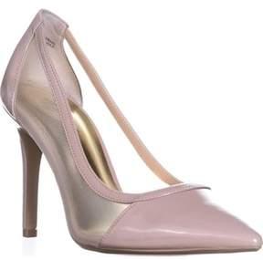 Thalia Sodi Ts35 Natalia Pointed Toe Mesh Heels, Pale Mauve.