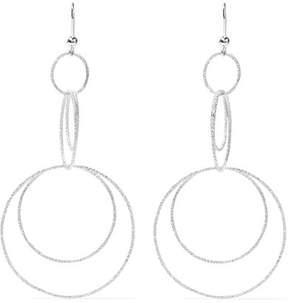 Carolina Bucci Florentine 18-karat White Gold Earrings
