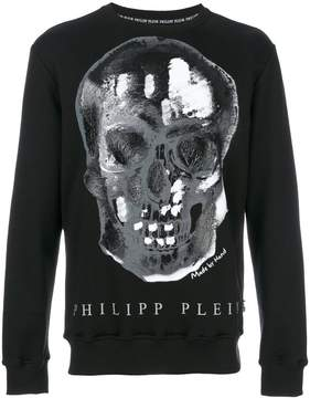 Philipp Plein skull print jumper