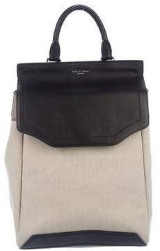 Rag & Bone Canvas & Leather Pilot Backpack w/ Tags