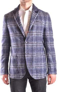Altea Men's Multicolor Wool Blazer.