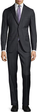 Luciano Barbera Wool Two-Piece Suit
