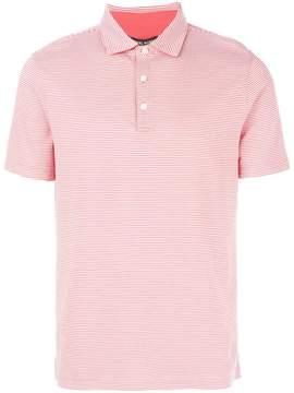 Michael Kors striped polo shirt