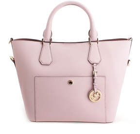 Michael Kors Blossom & Dark Rose Greenwich Leather Tote - BLOSSOM - STYLE