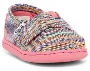Toms Alpargata Space Dye Slip-On Flat (Baby & Toddler)