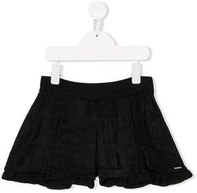 Diesel ruffled shorts