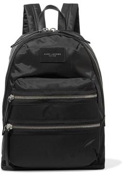 Marc Jacobs Biker Leather-trimmed Shell Backpack - Black - BLACK - STYLE