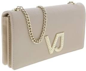 Versace EE3VRBPC3 Beige Wallet on Chain
