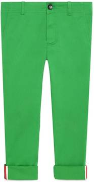 Children's gabardine pant with Web