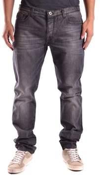 Bikkembergs Men's Black Cotton Jeans.