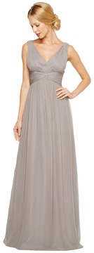 Donna Morgan Julie Bra Friendly Long Gown Women's Dress