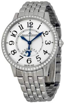 Jaeger-LeCoultre Jaeger Lecoultre Rendez-vous Silver Dial Stainless Steel Diamond Ladies Watch