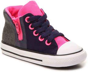 Converse Girls Chuck Taylor All Star Sport Zip Toddler High