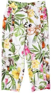 MonnaLisa Jungle Book Printed Viscose Pants