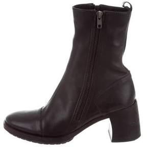 Ann Demeulemeester Platform Ankle-Boots