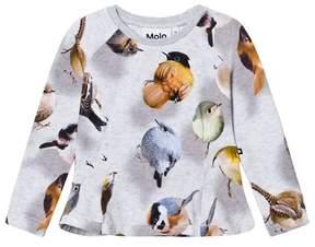 Molo Bouncing Birds Print Raelicka Top