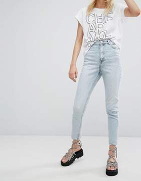 Cheap Monday High Waist Slim Fit Jean