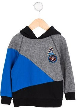 Little Marc Jacobs Boys' Embroidered Colorblock Hoodie