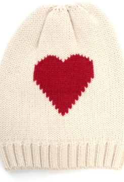 Hat Attack Heart Reversible Beanie