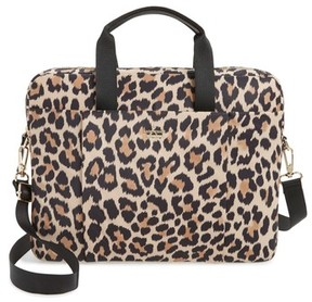 Kate Spade Leopard Commuter Bag - Brown - BROWN - STYLE