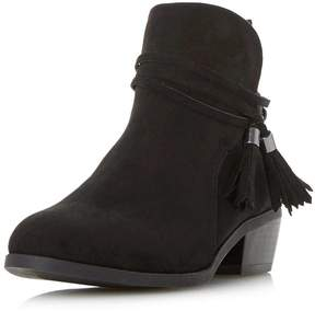 Head Over Heels *Head Over Heels by Dune Black 'Petraa' Ankle Boots