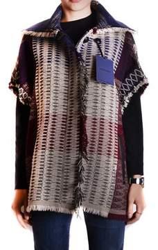 Jacob Cohen Women's Multicolor Wool Outerwear Jacket.