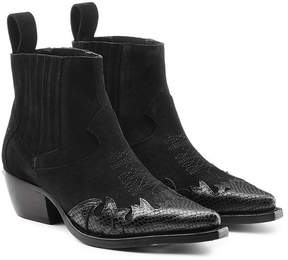 Zadig & Voltaire Erin Suede Ankle Boots