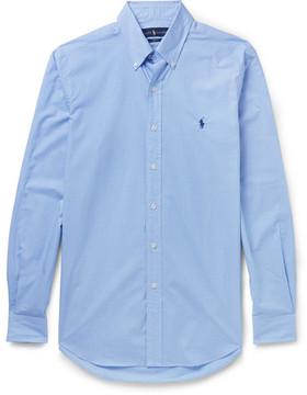 Polo Ralph Lauren Button-Down Collar Gingham Cotton Shirt