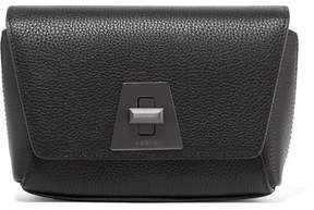 Akris Anouk Little Day Textured-leather Shoulder Bag - Black